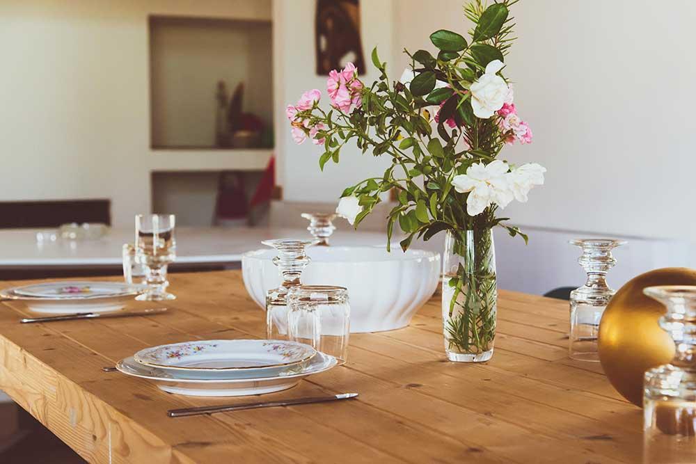Il salone da pranzo | Azienda Agricola Ceppeto 1°