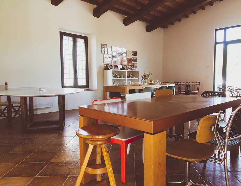 Il salone da pranzo   Azienda Agricola Ceppeto 1°