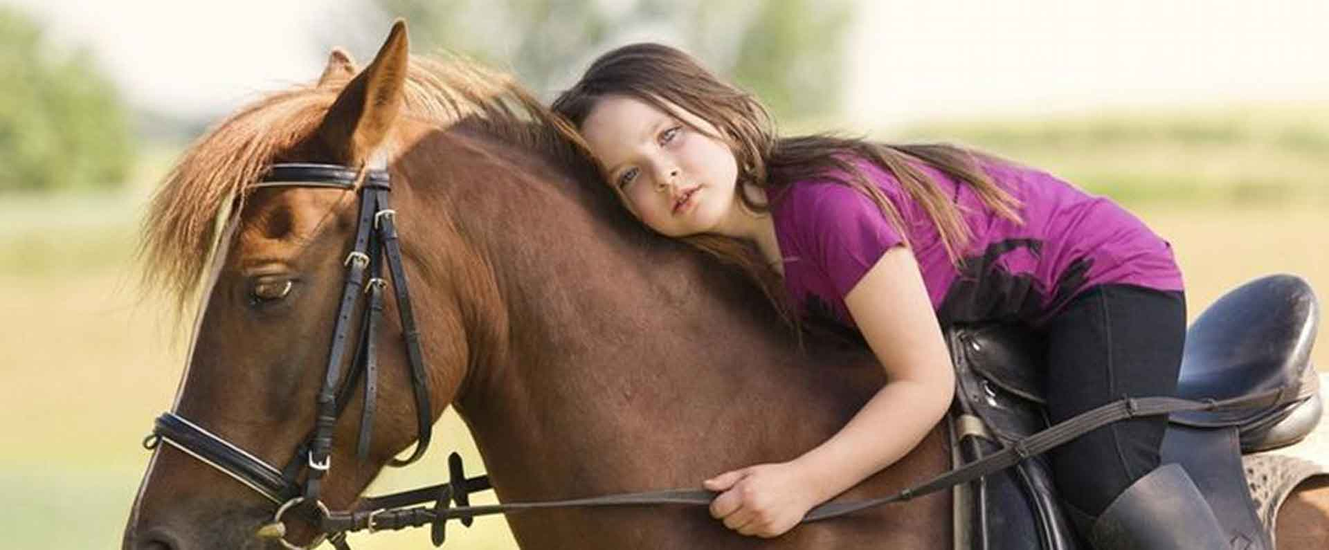 Bambini a cavallo | Azienda Agricola Ceppeto 1°